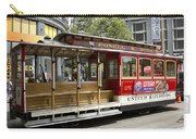 Cable Car On Turntable San Francisco Carry-all Pouch