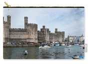 Caernarfon Castle Panorama Carry-all Pouch