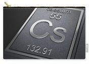 Caesium Chemical Element Carry-all Pouch