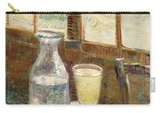 Cafe Table With Absinth  Carry-all Pouch