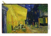 Cafe Terrace Arles Carry-all Pouch by Vincent van Gogh