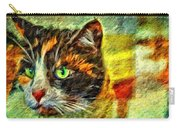 Calico Kitty Carry-all Pouch