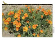 Californian Poppy Eschscholzia Carry-all Pouch