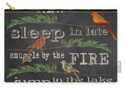 Camping Rules-d Carry-all Pouch