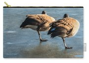 Canada Geese At Rest Carry-all Pouch