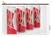 Cans Of Budweiser Beer Carry-all Pouch