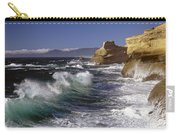 Cape Kiwanda With Breaking Waves Carry-all Pouch
