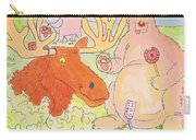Cartoon Animals Carry-all Pouch