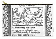 Cartouche, 1543 Carry-all Pouch