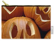 Carved Pumpkins Carry-all Pouch