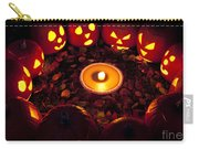 Carved Pumpkins With Pumpkin Pie Carry-all Pouch