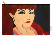 Cat Eye Woman Carry-all Pouch