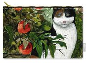 Cat On The Patio Carry-all Pouch