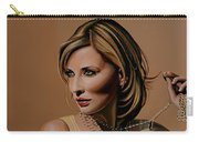 Cate Blanchett Painting  Carry-all Pouch