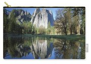 Cathedral Rock And The Merced River Carry-all Pouch