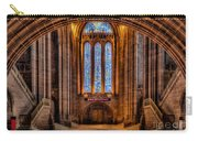 Cathedral Window Carry-all Pouch by Adrian Evans