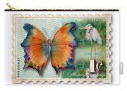 1 Cent Butterfly Stamp Carry-all Pouch