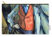 Cezanne's Boy In Red Waistcoat Carry-all Pouch
