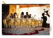 Champagne Glasses At The Party Carry-all Pouch by Michal Bednarek