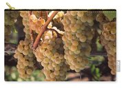 Chardonnay Grapes In Vineyard, Carneros Carry-all Pouch