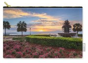 Charleston Sc Waterfront Pineapple Fountain Carry-all Pouch