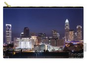 Charlotte Skyline At Dusk Carry-all Pouch