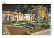 Charlotte Skyline Behind Romare Bearden Park Carry-all Pouch