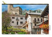 Chatelard Village With Castle Carry-all Pouch