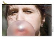 Chewing Gum Lady Carry-all Pouch
