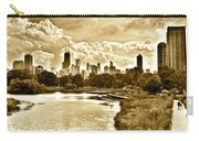 Chicago In Sepia Carry-all Pouch