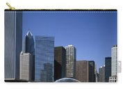 Chicago Skyline Carry-all Pouch by Rafael Macia