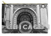Chicago Theater Marquee Carry-all Pouch