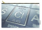 Chlorine Chemical Element Carry-all Pouch