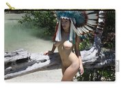 Chokoskee Island Fl. Indian 044 Carry-all Pouch