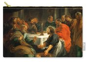Christ Washing The Apostles' Feet Carry-all Pouch