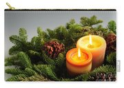Christmas Candles Carry-all Pouch by Elena Elisseeva