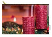 Christmas Candles Carry-all Pouch