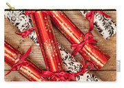 Christmas Crackers Carry-all Pouch