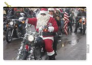 Christmas Toys For Tots Santa On Motorcycle Casa Grande Arizona 2004 Carry-all Pouch