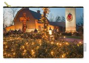 Christmas Village Decorations Carry-all Pouch