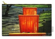 Christo - The Gates - Project For Central Park Carry-all Pouch