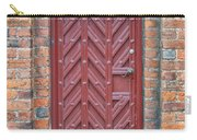 Church Door 02 Carry-all Pouch by Antony McAulay