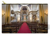 Church Of Santa Barbara Interior In Madrid Carry-all Pouch
