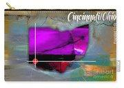 Cincinnati Ohio Map Watercolor Carry-all Pouch