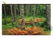 Cinnamon Ferns And Red Spruce Trees Carry-all Pouch
