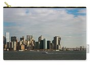 City At The Waterfront, New York City Carry-all Pouch