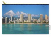 City At The Waterfront, Waikiki Carry-all Pouch