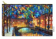 City Bridge Carry-all Pouch by Leonid Afremov