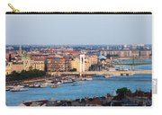 City Of Budapest At Sunset Carry-all Pouch