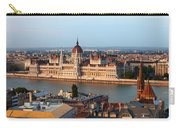 City Of Budapest Cityscape Carry-all Pouch